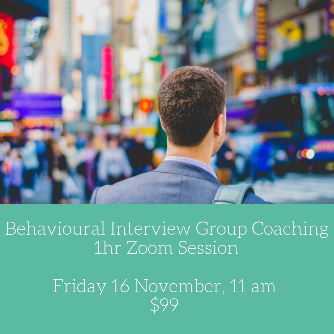 behavioural interview coaching