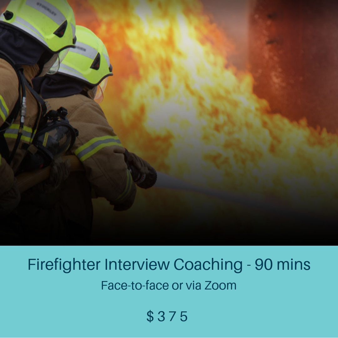 firefighter interview coaching