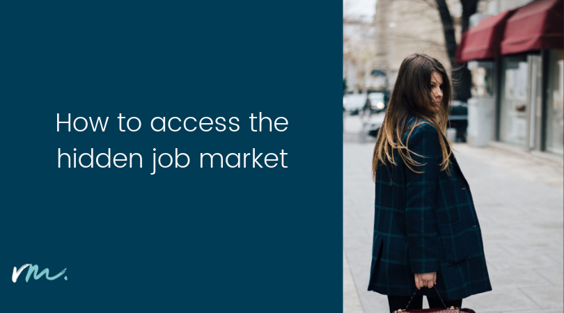 How to access the hidden job market