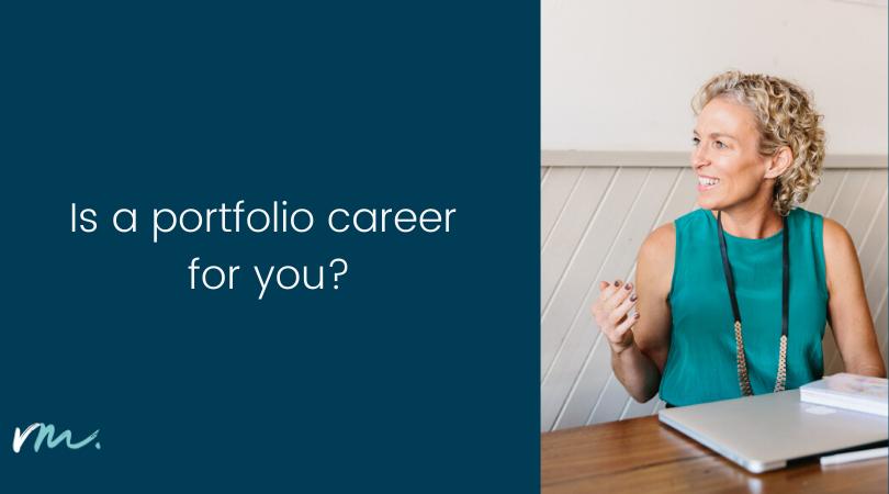 Is a portfolio career for you?