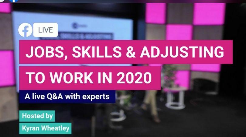 adjusting to work in 2020
